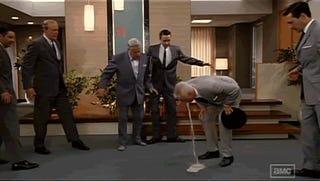Mad Men vomit gif dance party!