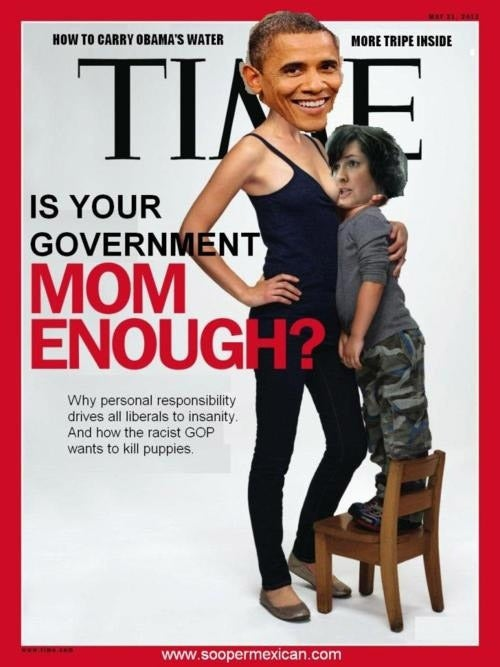 The Time Breastfeeding Cover Is Your Newest Meme