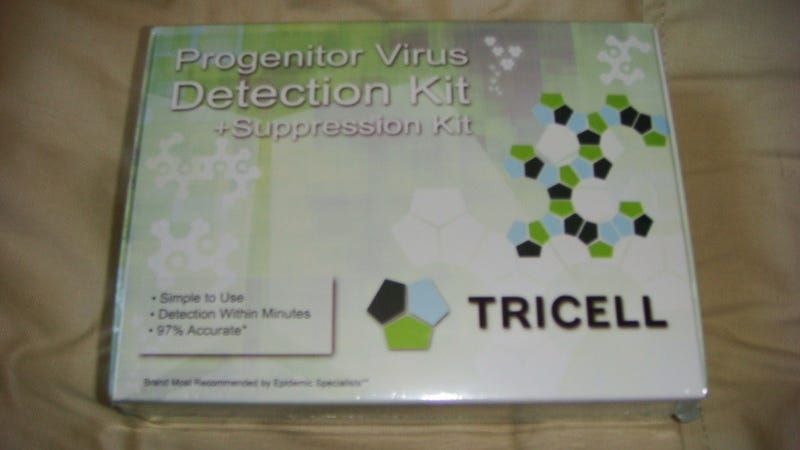 Tricell's Real Progenitor Virus Detection and Suppression Kit