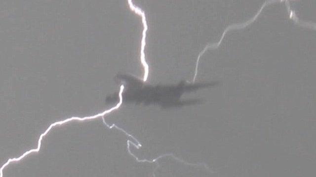 I'll Always Be Scared of a Lightning Bolt Striking a Plane