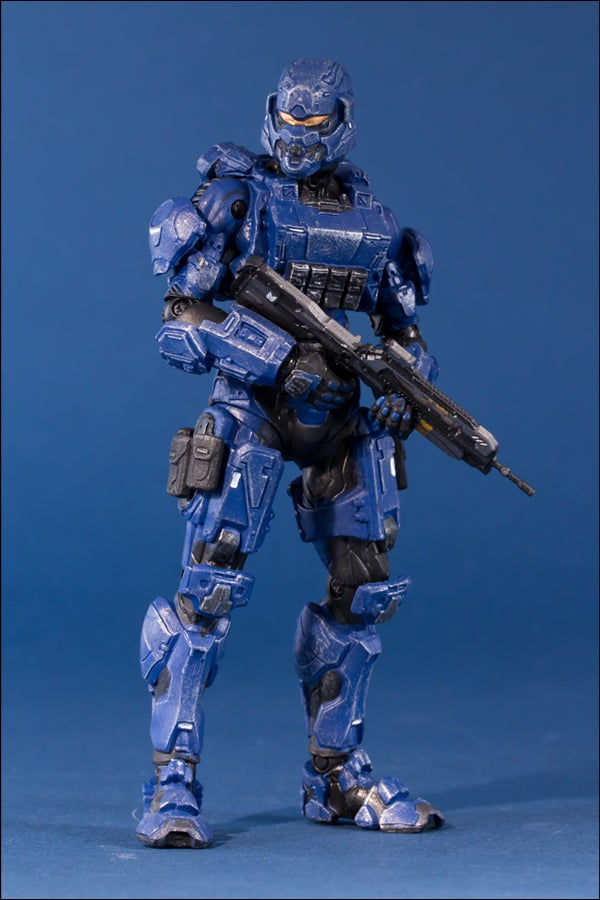 Halo 4's Action Figures Are Looking Blue