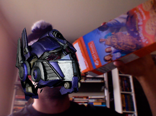 You Too Can Wear the Head of Optimus Prime (in Augmented Reality, Of Course)