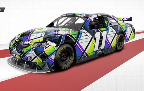 Design Your Own NASCAR Livery