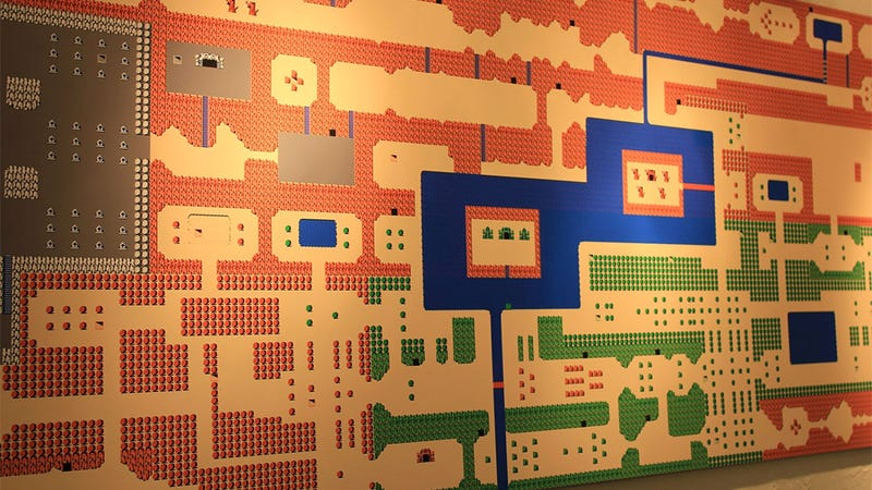 Giant NES Zelda Mural Reminds Us To Never Forget About the Battles of Hyrule
