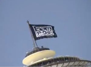 Sub Pop Captures the Space Needle