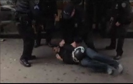 Actual NYPD Brutality (And Lies!) Caught on Tape