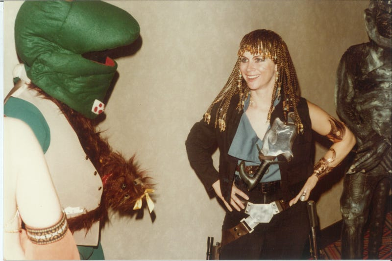 Scenes from a Los Angeles scifi convention, 32 years ago