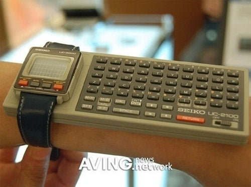 The Seiko UC-2000 Wrist PC: An Awkward '80s Attempt To Live The Cyborg Life