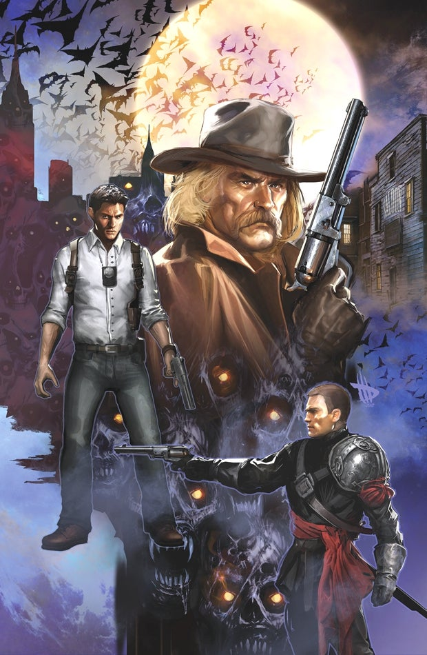 An exclusive first look at the upcoming R.I.P.D. comic book!