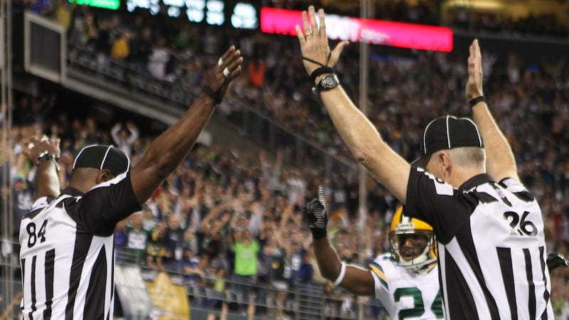 Touchdown? The Real NFL Referees Reportedly Are Coming Back Soon [UPDATE: Maybe]