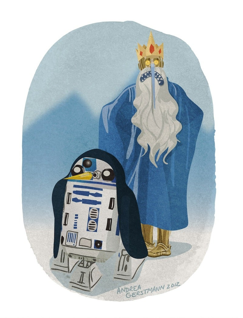 Halloween costume ideas for the Star Wars droids in your life