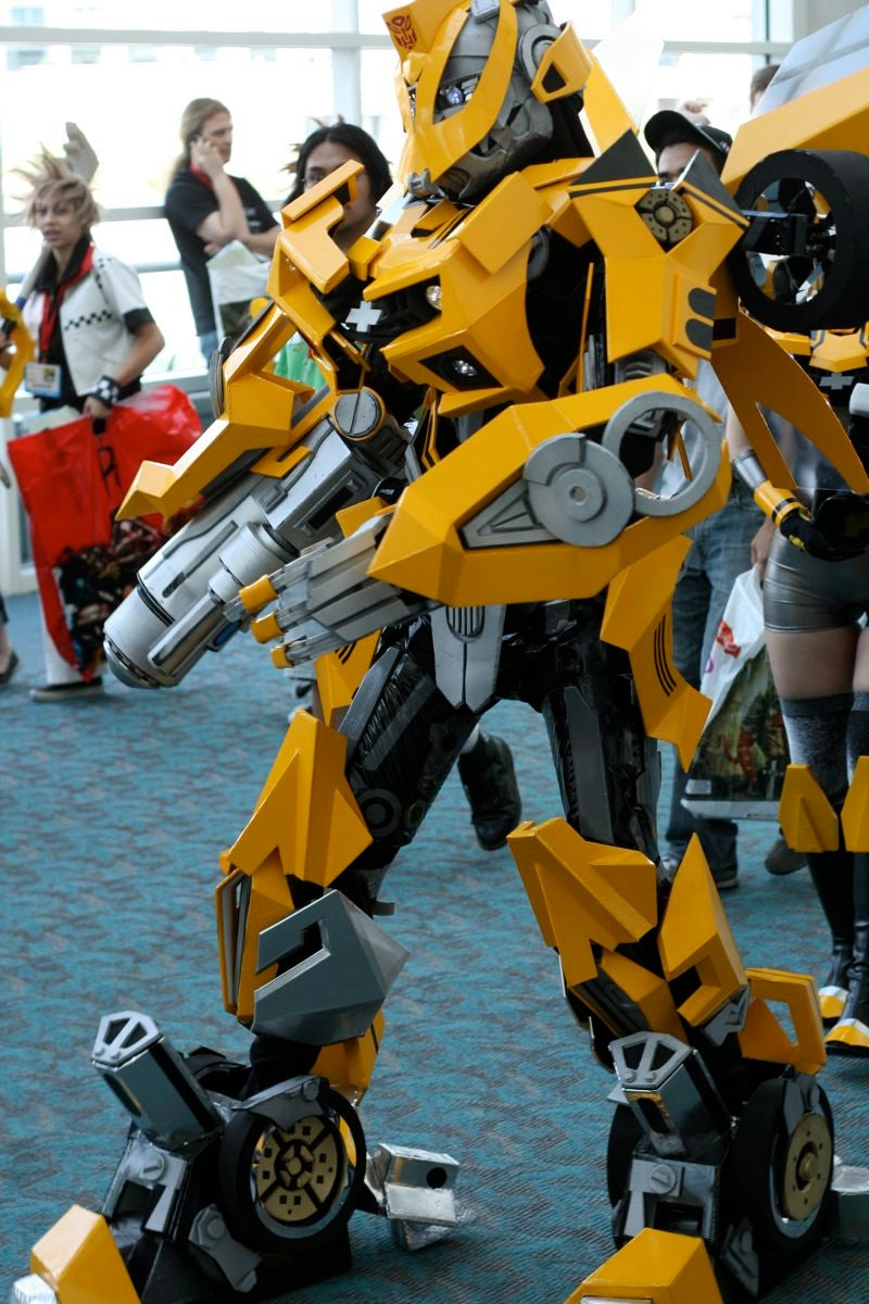 Comic-Con Bumblebee: The Coolest Car Costume Ever!