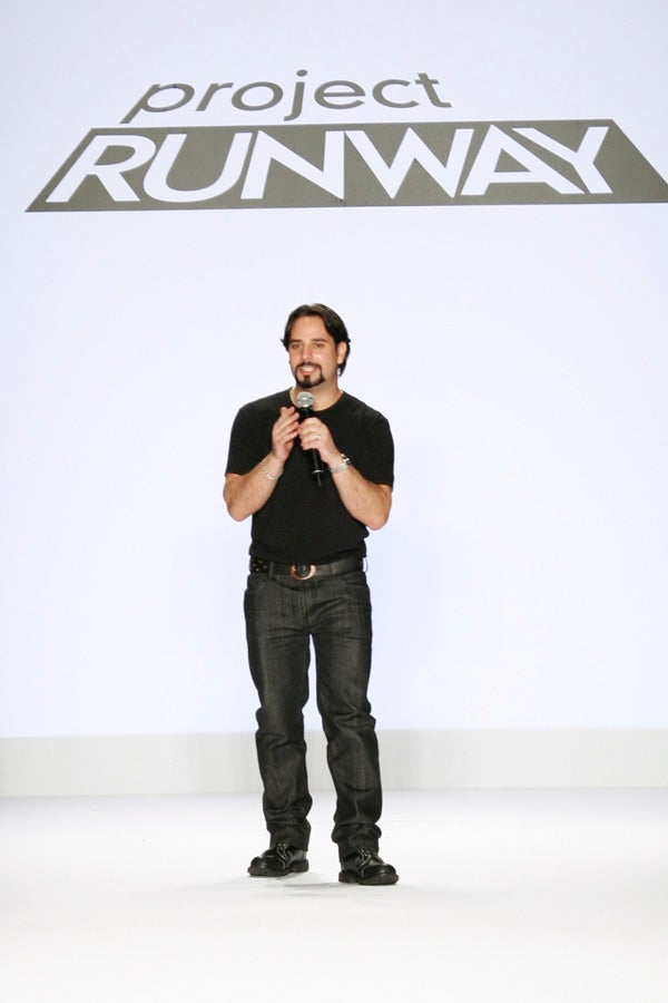 Project Runway Fashion Show: Joe