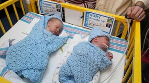 Three Sets Of Twins Born In Different Years