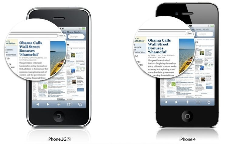 The iPhone 4 Retina Display Controversy