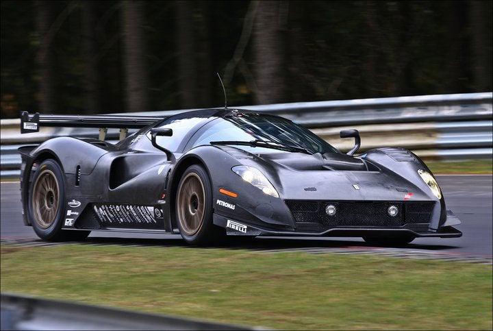 Gorgeous video of Ferrari P4/5 Competizione on the 'Ring