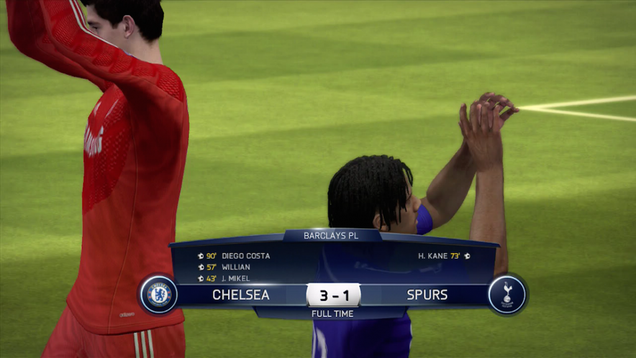 Capital One Cup Final - We Simulation Chelsea vs Spurs in the FIFA 15