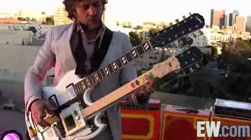 Flaming Lips Frontman Debuts Mutant Guitar Hero Guitar