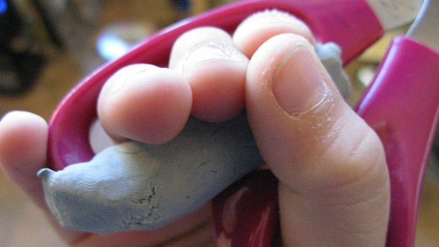 Use a Kneaded Eraser as a Cheap Sugru Alternative