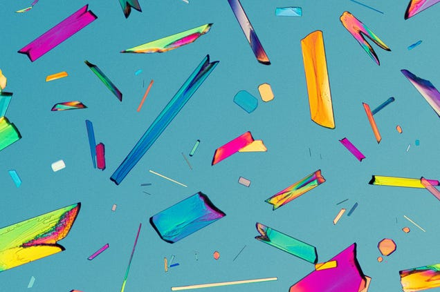 Narcotics and Medicines Look Beautiful Under a Microscope