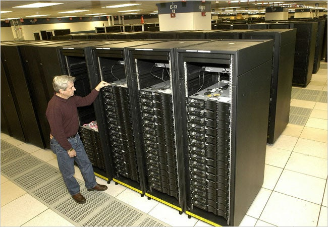 Roadrunner Military Supercomputer Sets Processing Record