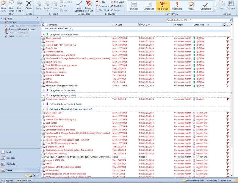 How I Get to Inbox Zero in Outlook