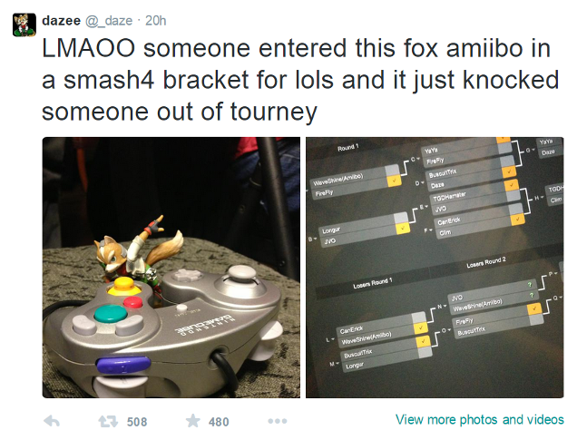 Amiibo Nearly Wins Super Smash Bros Tournament