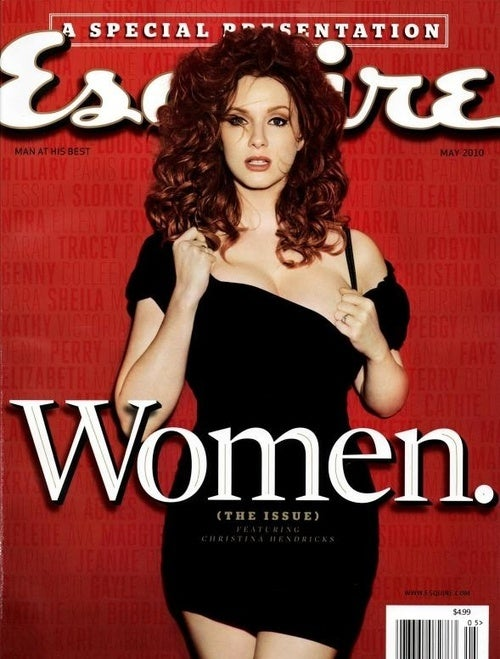 Christina Hendricks Is America's 'Best-Looking Woman,' Until Esquire Needs a New Cover Model