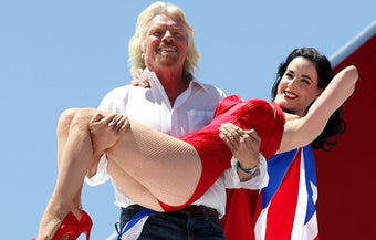 Richard Branson Sees Murdoch's iPad Newspaper, Raises Him an iPad Magazine