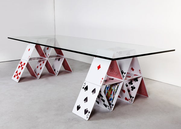 House of Cards Table Gallery