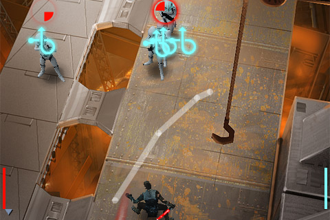 Star Wars The Force Unleashed For iPhone Hands-On