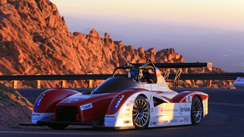 Electric Cars Get Murked As A French Hatch Rules Pikes Peak