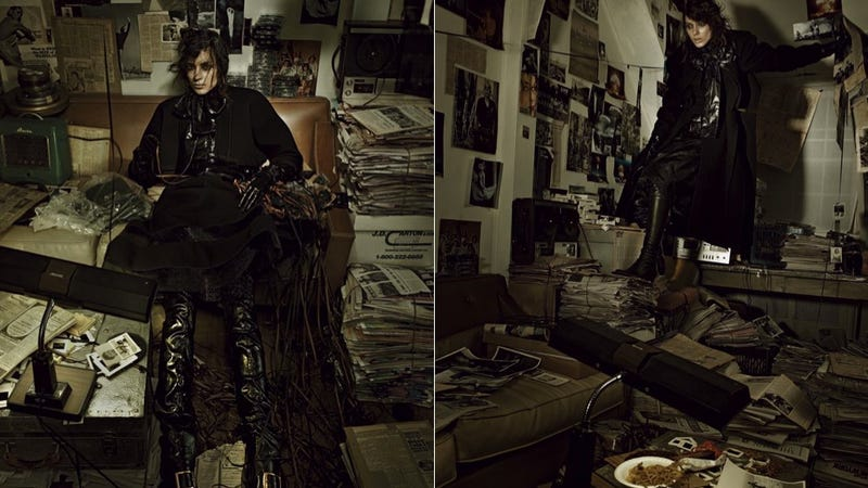 Fashion Shoot Taps Into Hoarding's Glamorous Side