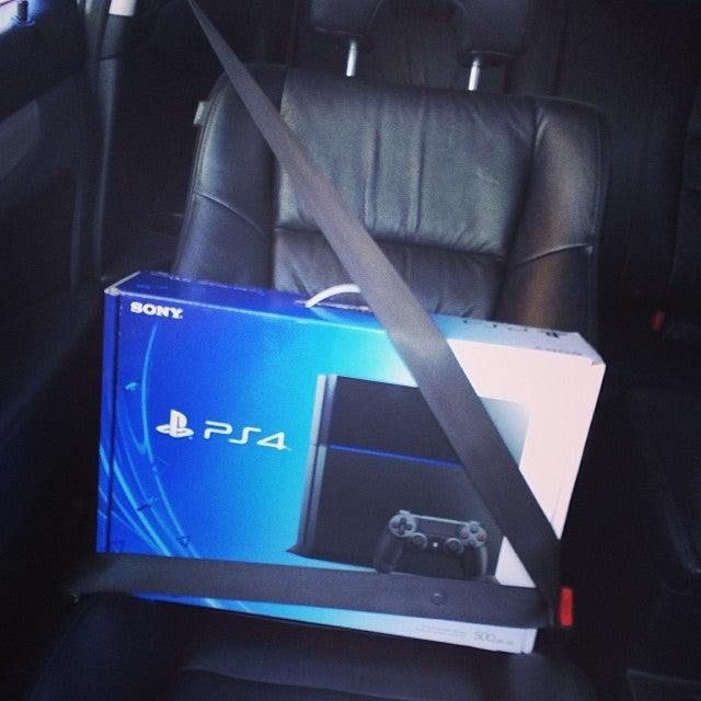 Look At All These PS4s Wearing Seat Belts
