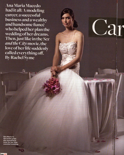 """The Secret Message Of Page Six Magazine's """"Real Life Carrie Bradshaw"""" Story"""