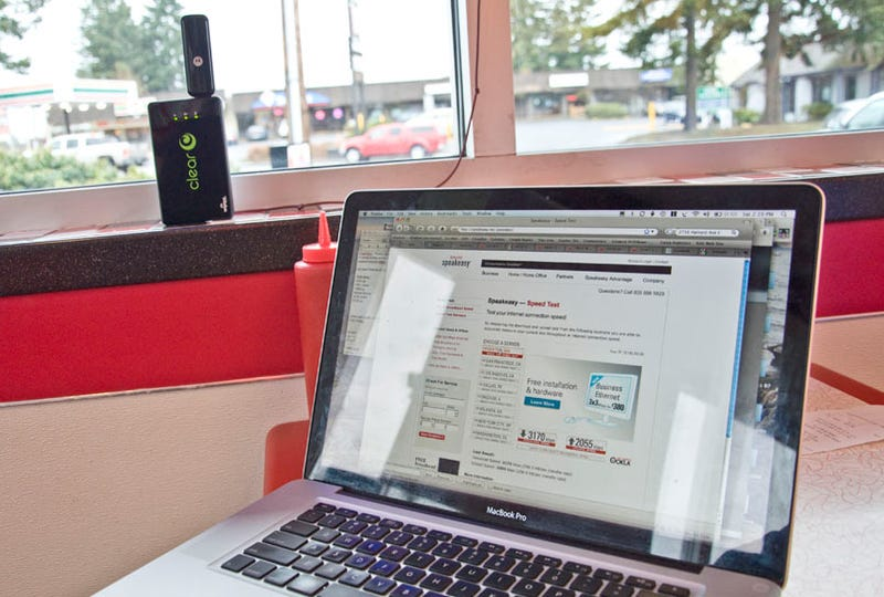 Review: Clear Spot Portable WiMax Wi-Fi Hotspot