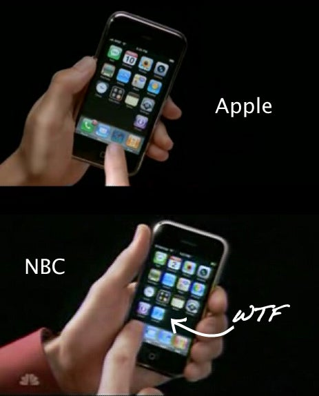 NBC Has Hacked Their iPhone