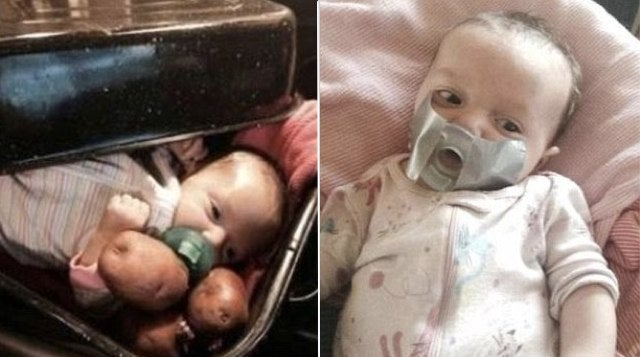 Grandma Thinks Photo of Baby in Roasting Pan Is Funny, CPS Not So Sure