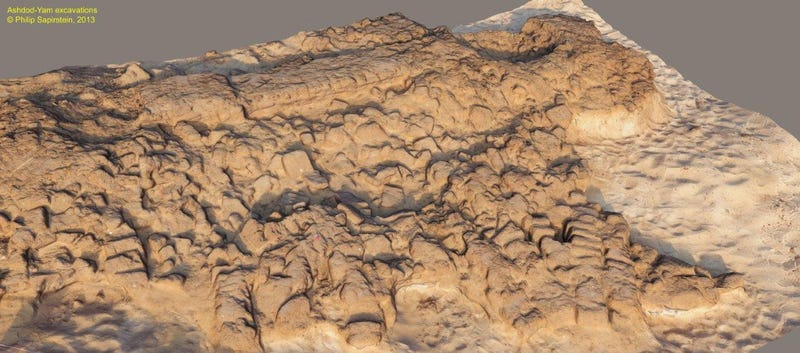 Archaeologists discover an Assyrian sea wall from a legendary battle