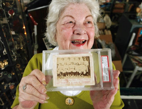 This Woman's Baseball Card Collection Is Better Than Yours