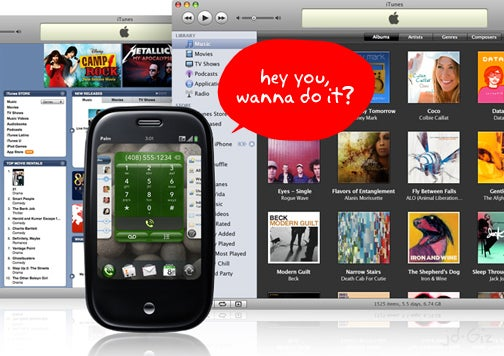 Apple Fine Print Warns That Palm Pre iTunes Syncing Could Die