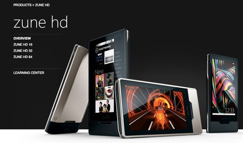 64GB Zune HD Now Available for $350