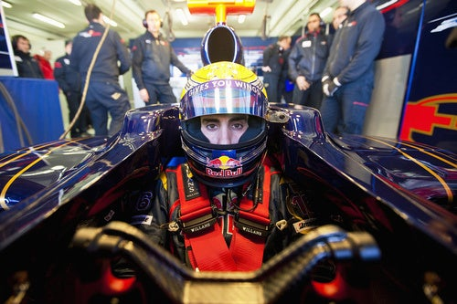 Look Into Buemi's Eyes, See The Future: The F1 Season Approacheth