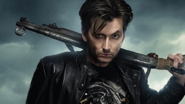 Get a good awesome look at David Tennant, Vampire Hunter