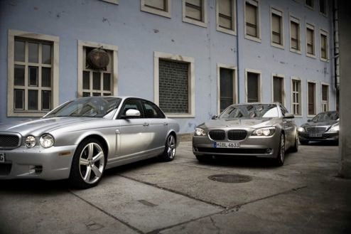 First Picture Of New BMW 7-Series Squaring Off Against Mercedes S-Class, Jaguar XJ