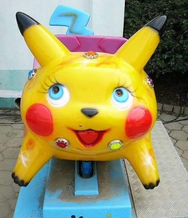 South Korea's Pikachu Rides Are Truly Frightening