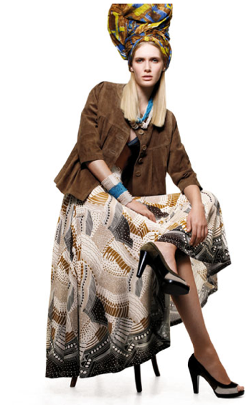 H&M Spring '08: For Those Who Love Ethnic Prints, Short Dresses, And Rosemary's Baby