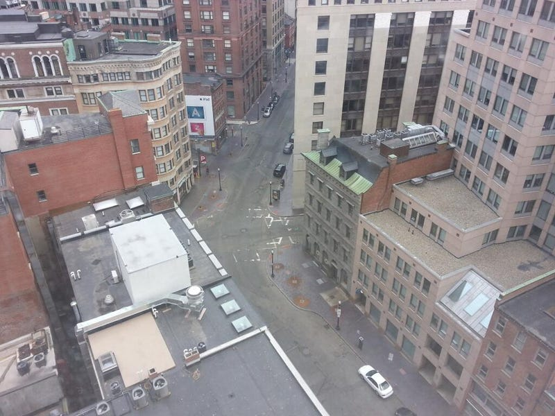 Eerie Photos Of Boston On Lockdown