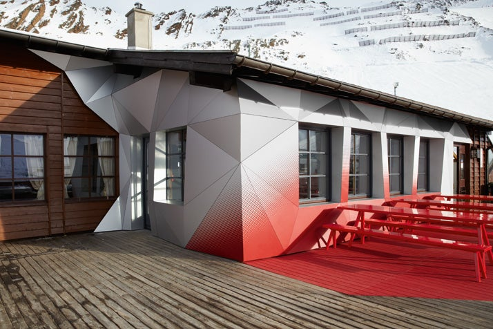 The Audi-designed Ski Lodge looks better than their entire lineup