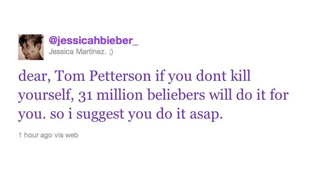 Fans Issue Death Threats To Bieber's Possible Attacker